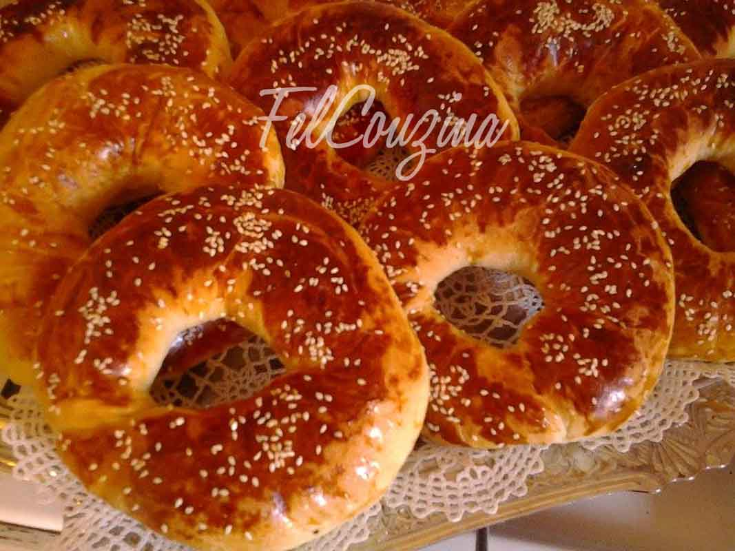 Kaak ka3k g teau sec alg rien felcouzina - Recette de cuisine algerienne traditionnelle ...