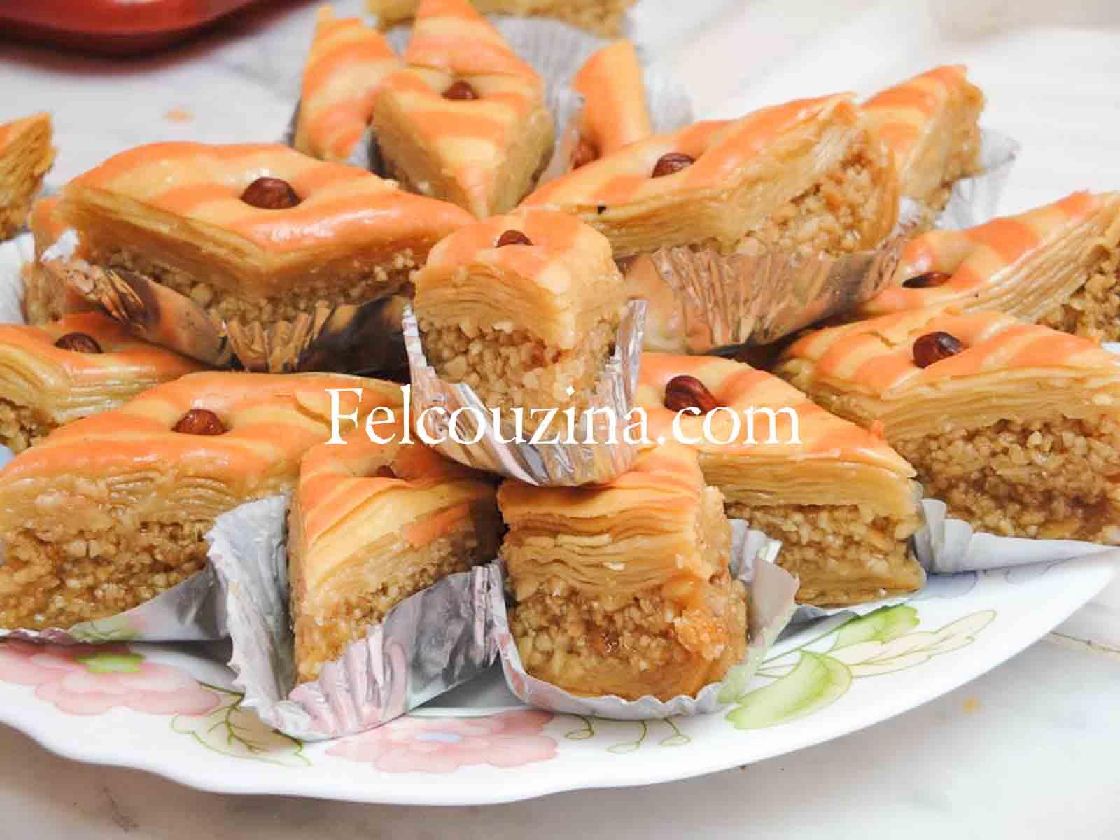 Recette de baklawa maison un g teau traditionnel alg rien - Recette de cuisine algerienne traditionnelle ...