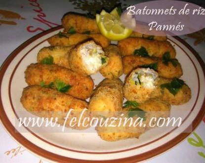 B tonnets ou boulettes de riz pann s et farcis au fromage felcouzina - Peut on donner du riz cuit aux oiseaux ...